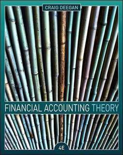 Financial Accounting Theory (Deegan 4e)