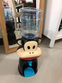 大嘴猴 Paul Frank 水壺公仔 猴子 飲水機 附水桶 造型 水壺