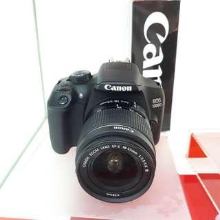 Kamera Canon EOS 1300d DSLR Promo (Kredit MURAH)