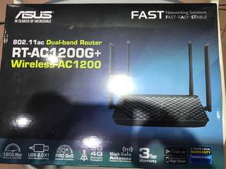 Dual-band Router RT AC1200G+