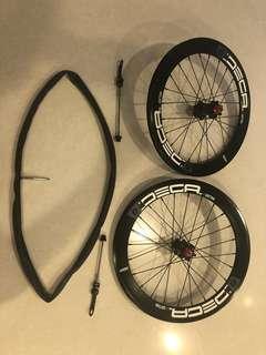 Deca 406 disc brake wheelset