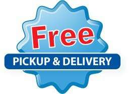 Free pickup & delivery laundry