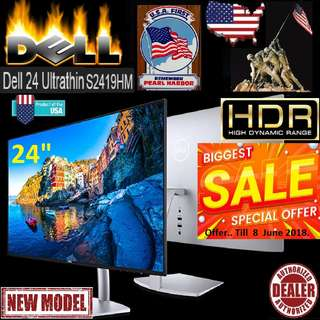 "Dell 24"" S2419HM ""HDR"" Ultrathin Monitor.. "" Think monitor.., Think HDR 1st...( Offer Till 8 June.2018 ) New Model."