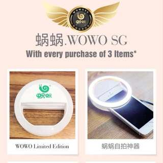 Selfie Light Wowo Promotion. Hair Shampoo. Collagen. Cleanser.