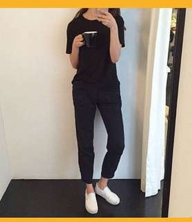 Korean Black Trousers