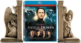 Angels & Demons Gift Set Bluray with bookends