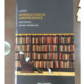 Lloyds Jurisprudence Law Textbook