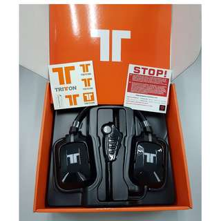 TRITTON PRO+ 5.1 Surround Sound Gaming Headset EU - BLACK                                                           [Up to 60% Discount]❗️LIMITED ONLY❗️