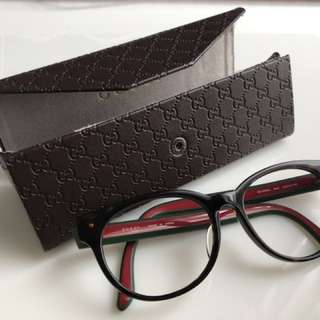 gucci 眼鏡 全新 連眼鏡盒