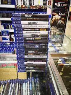 Ps4 Games each rm99 new and sealed free postage 0124140307 WhatsApp