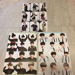 少時EXO poster