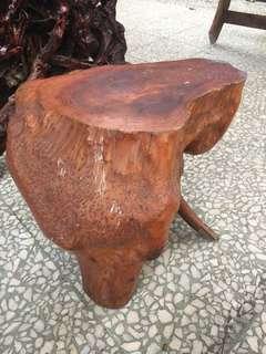 树根凳34cm高一个