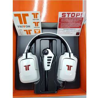 TRITTON PRO+ 5.1 Surround Sound Gaming Headset EU - WHITE                                                          [Up to 60% Discount]❗️LIMITED ONLY❗️