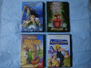 Disney dvd cartoon movie