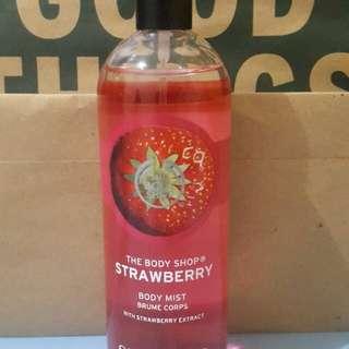 SALE !! Strawberry Mist The Body Shop