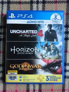 PS4 Uncharted 4 and Horizon Zero Dawn