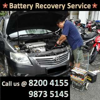Car Battery On Site Installation