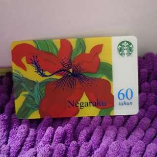 Starbucks Card NegaraKu 60