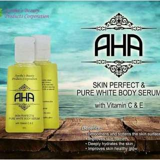 AHA Whitening Serum By : Ayesha