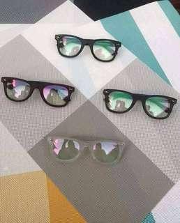 Anti radiation eyeglass