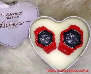 T2505C/18 Jam G-Shock Couple