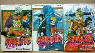 Naruto (Comic House) loose comics.