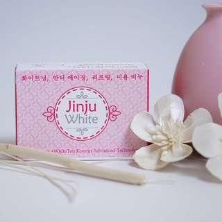 JINJU WHITE SOAP ❗️AUTHENTIC ❗️