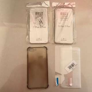 iPhone 7 plus phone case and screen protector