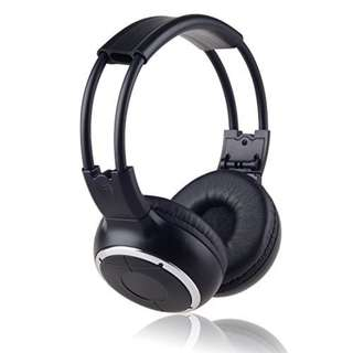 391. 3 Pack of Key Audio IR Wireless Two-Channel Foldable Headphone
