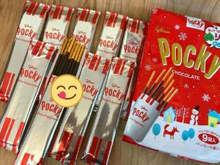 🚚 pocky巧克力棒,草莓棒👏👏