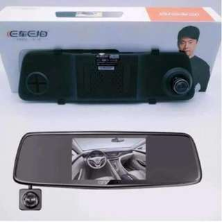 A5 5.0 DVR Triple Cam Vehicle Black Box Rear-Miror Video Car Recorder DVR