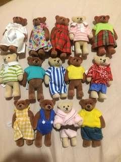 1999年 麥當勞泰迪熊 收藏泰迪熊 二手泰迪熊