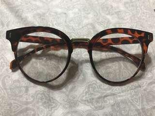 Leopard Print Non-graded Specs/Glasses
