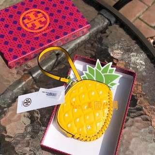 精品代購TORY BURCH18新款夏季水果系列款零錢包 頭層牛皮+漆皮材質