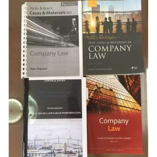 Company Law Textbooks