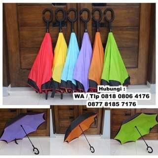 Souvenir Payung Terbalik Khusus Mobil