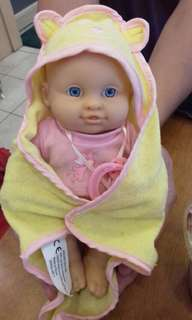 法國 歐尚 AUCHAN-SNC OIA NEW BORN BABY DOLL 收藏娃娃 二手娃娃