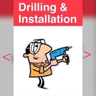 Drilling installation assemble