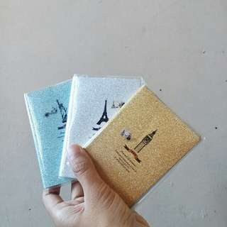 Cute sparkle mini notebooks