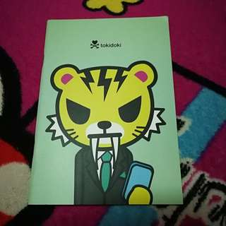 Tokidoki Donutella & Friend Series Notebook B
