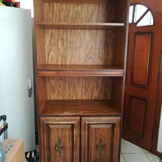 Vintage Retrol Cabinet/Book shelves/TV Cabinet & Side Table