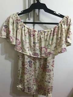 BUNDLE: Floral off-shoulder top and Floral Sun Dress