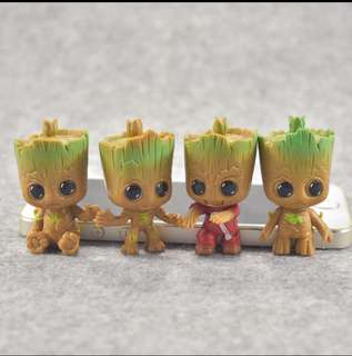 PO: guardians of the galaxy Groot keychain