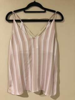 Pink Glassons Singlet