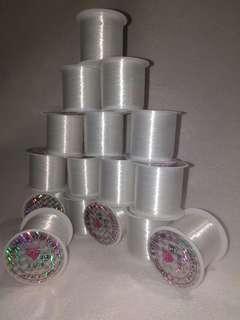 Benang Nylon Transparan