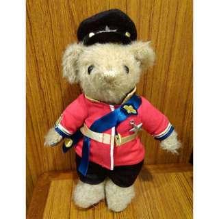 英國 MERRYTHOUGHT DAKS 英倫皇家 泰迪熊 收藏泰迪熊