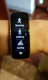 Samsung fitness watch/gear fit