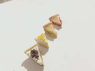Polymer clay miniature pie