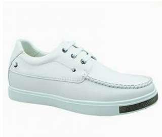 White shoes (BRADFORD) - US SIZE MEN:6, FEMALE:7.5