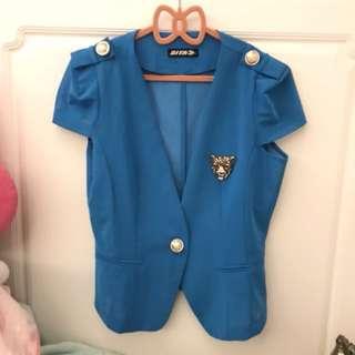 🚚 Doha 藍色小外套